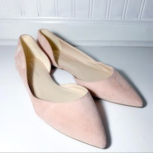 Marc Fisher Suede Flat